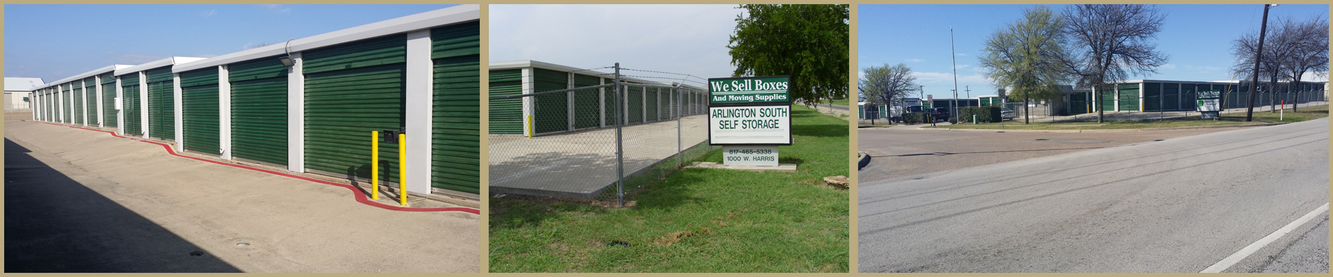 Storage facility in Arlington, TX